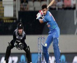ऑकलैंड टी-20 में भारत ने न्यूज़ीलैंड को 6 विकेट से हराया